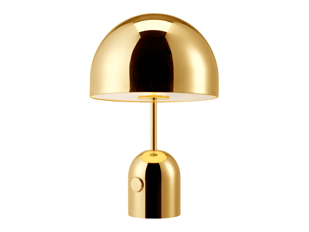 buy the tom dixon bell table lamp brass at. Black Bedroom Furniture Sets. Home Design Ideas