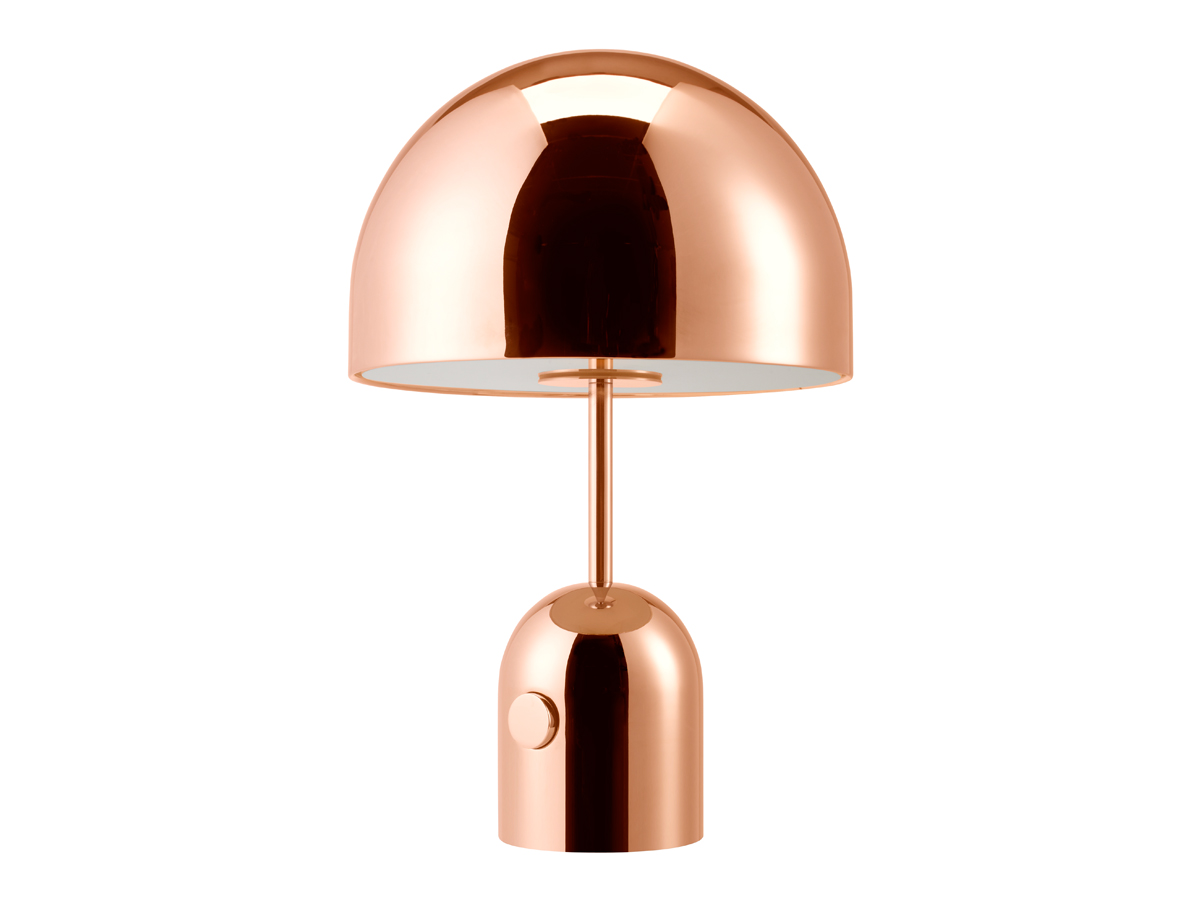 buy the tom dixon bell table lamp copper at. Black Bedroom Furniture Sets. Home Design Ideas