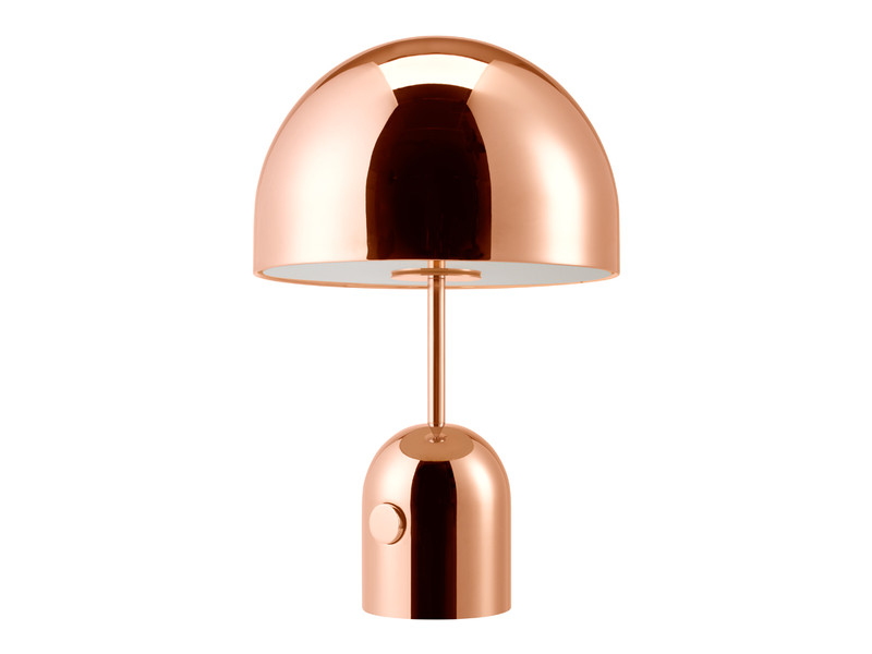 Buy The Tom Dixon Bell Table Lamp Copper At Nest Co Uk