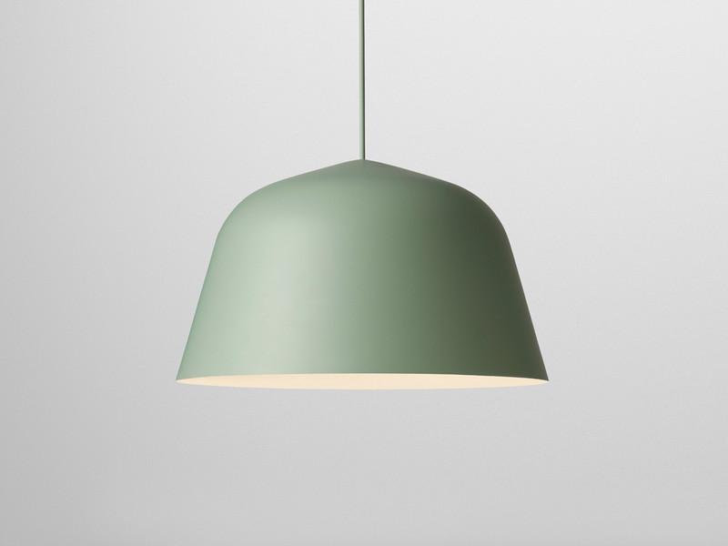 green pendant lighting. muuto ambit pendant light 40cm green lighting e