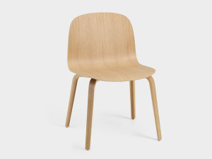 View Muuto Visu Wide Chair Wooden Base