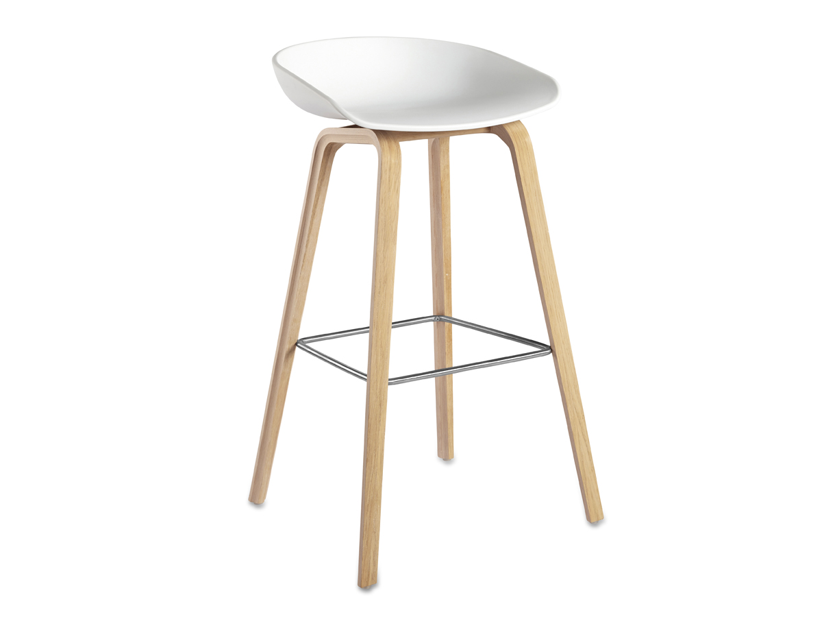 Buy The Hay About A Stool Aas32 Wooden Base At Nest Co Uk