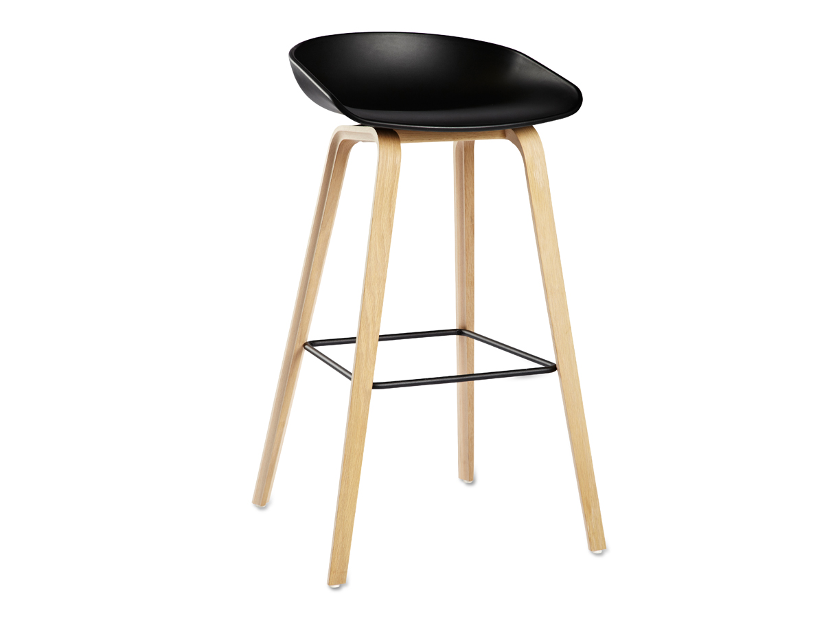 buy the hay about a stool aas32 wooden base at. Black Bedroom Furniture Sets. Home Design Ideas