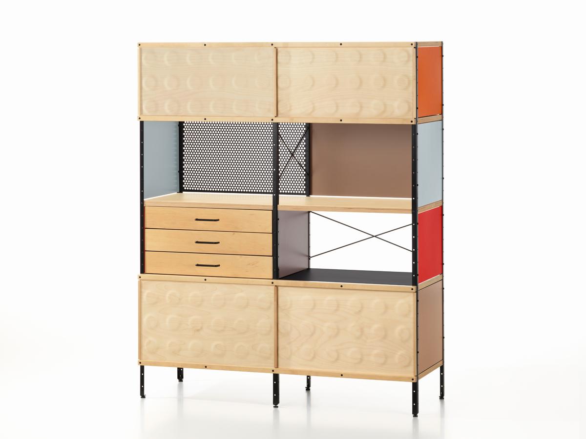 buy the vitra eames storage unit esu bookcase at nestcouk -  vitra eames storage unit esu bookcase