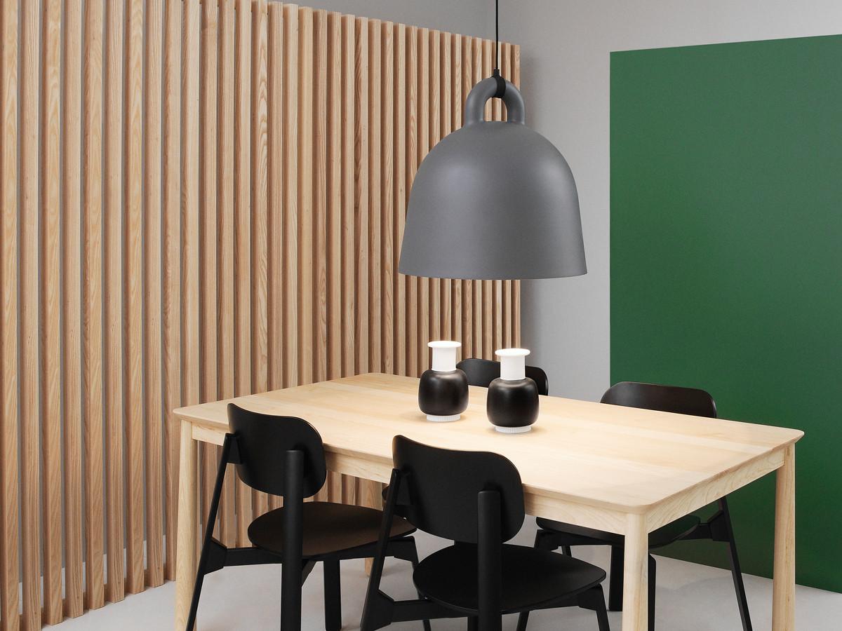 buy the normann copenhagen bell pendant light grey at. Black Bedroom Furniture Sets. Home Design Ideas
