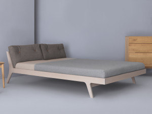 Zeitraum Mellow Bed - Light Warmgrey
