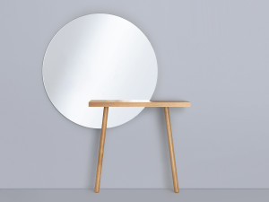 View Zeitraum Carla Console Table with Mirror