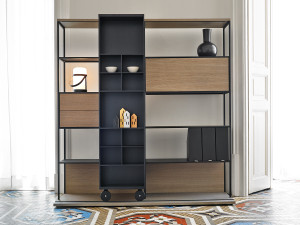 Punt Literatura Open Shelving Unit