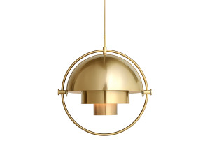 View Gubi Multi-Lite Pendant Brass
