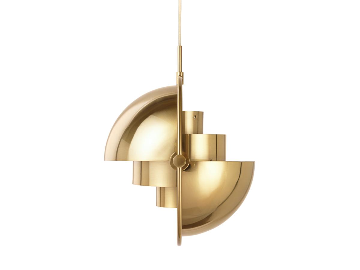 buy the gubi multi lite pendant brass at. Black Bedroom Furniture Sets. Home Design Ideas