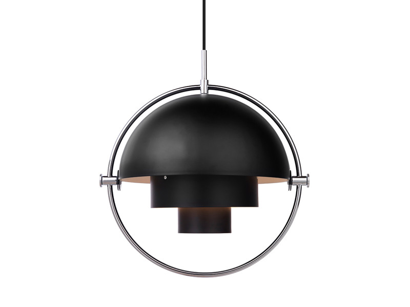 black pendant lite chrome nest at buy co uk gubi multi product the