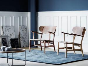 Carl Hansen CH22 Lounge Chair