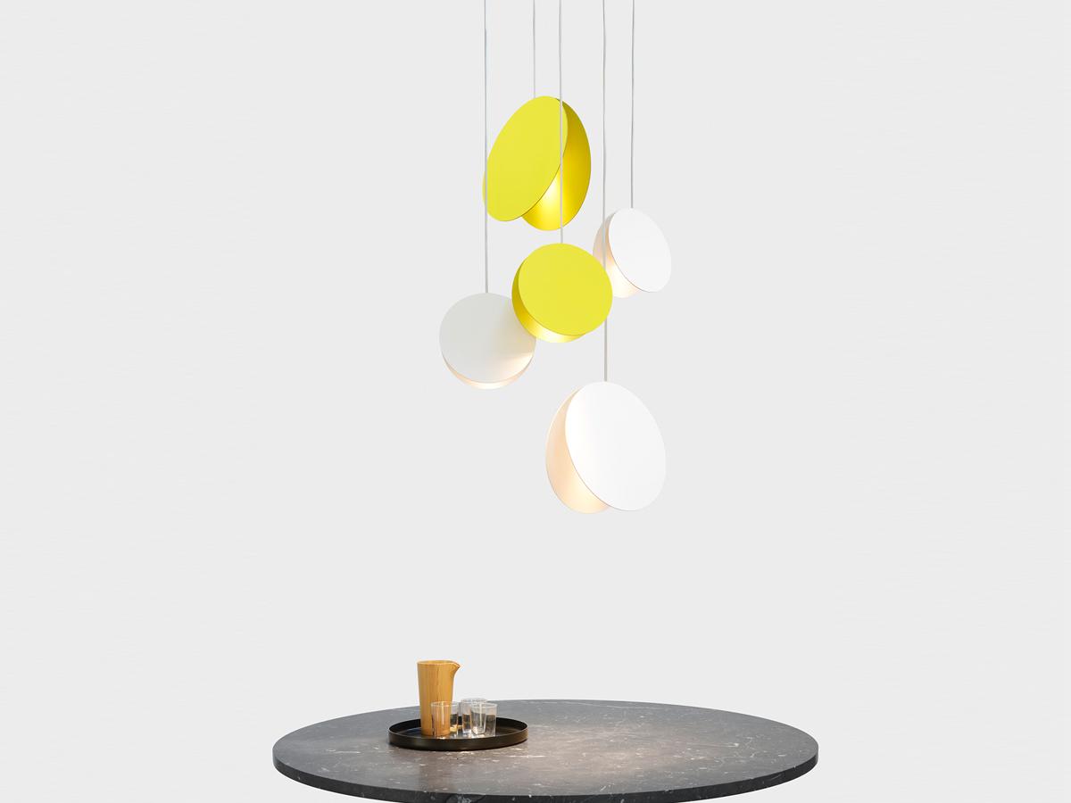 ... Pendant Light   Sulphur Yellow. 12345