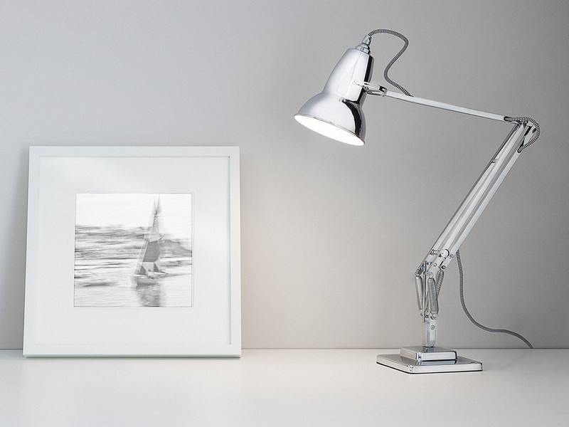 Buy the Anglepoise Original 1227 Chrome Desk Lamp at Nest.co.uk