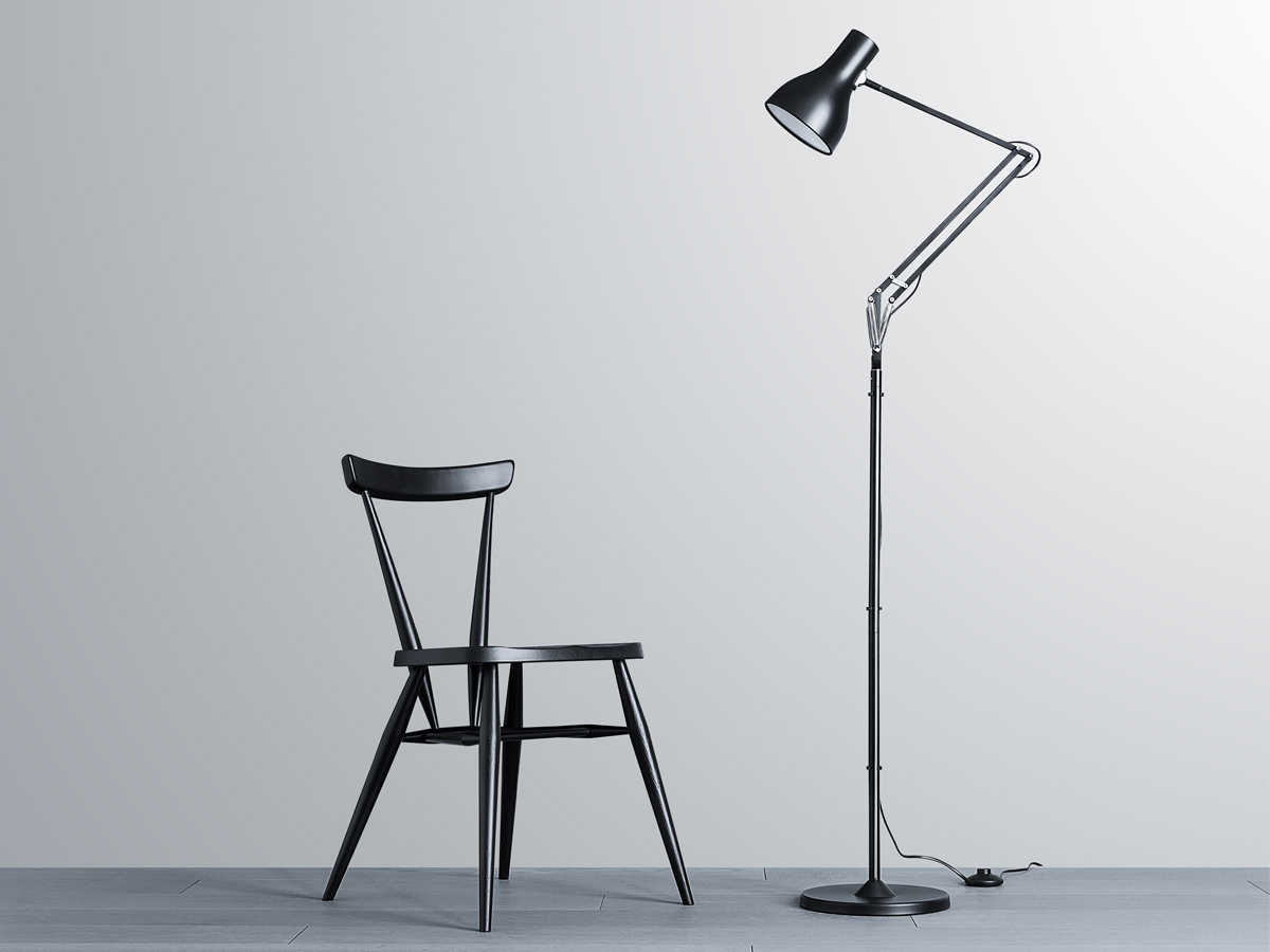 buy the anglepoise type 75 floor lamp at. Black Bedroom Furniture Sets. Home Design Ideas