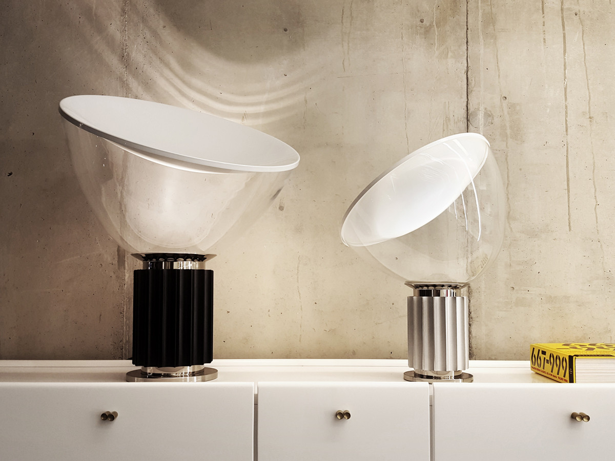buy the flos taccia small led table lamp at. Black Bedroom Furniture Sets. Home Design Ideas
