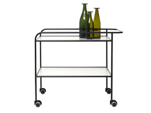 Cappellini Steel Pipe Drink Trolley