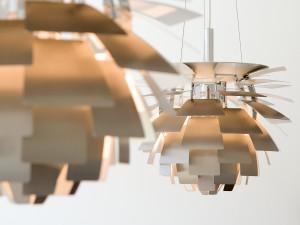 Louis Poulsen PH Artichoke Suspension Light Steel Brushed