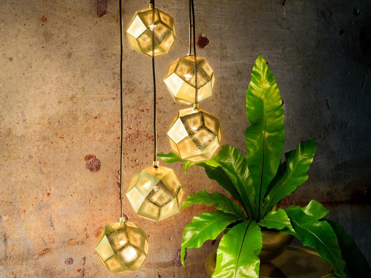 buy the tom dixon etch mini chandelier at. Black Bedroom Furniture Sets. Home Design Ideas