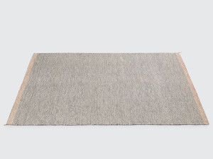 Muuto Ply Rug Black-White