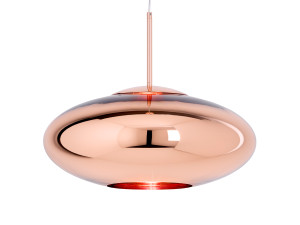 View Tom Dixon Copper Wide Pendant Light