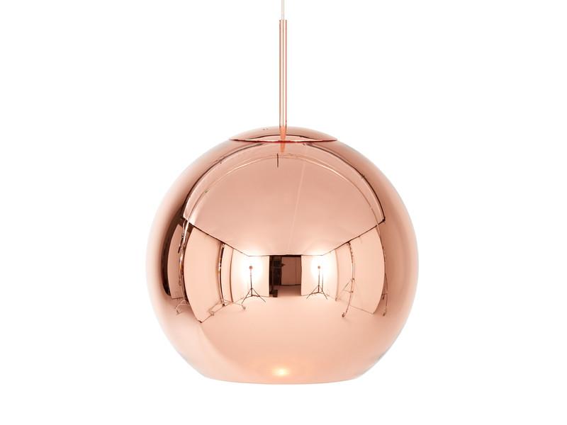Buy the tom dixon copper round pendant light 45cm at nest tom dixon copper round pendant light 45cm aloadofball Image collections