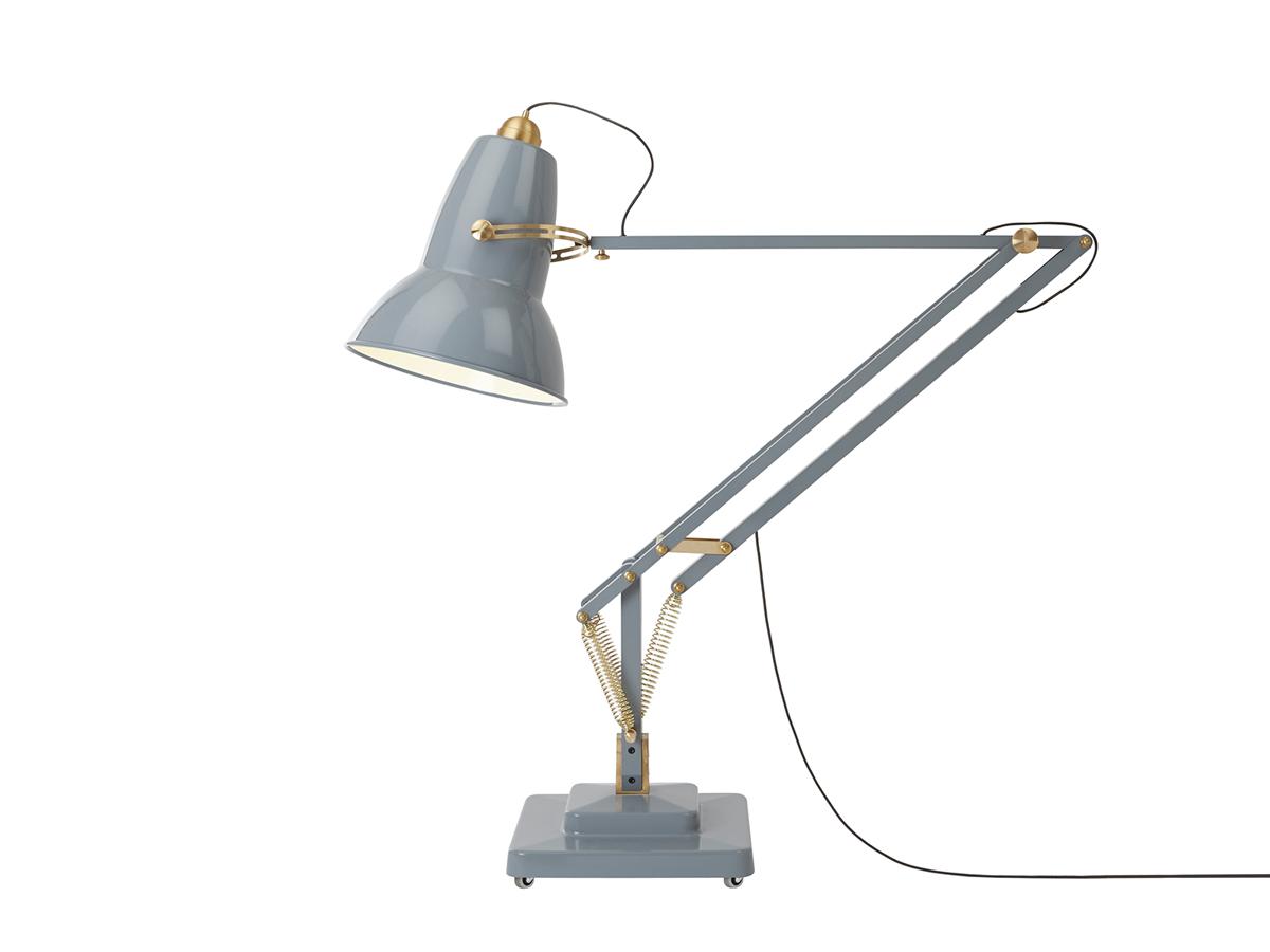 buy the anglepoise original 1227 giant brass floor lamp at. Black Bedroom Furniture Sets. Home Design Ideas