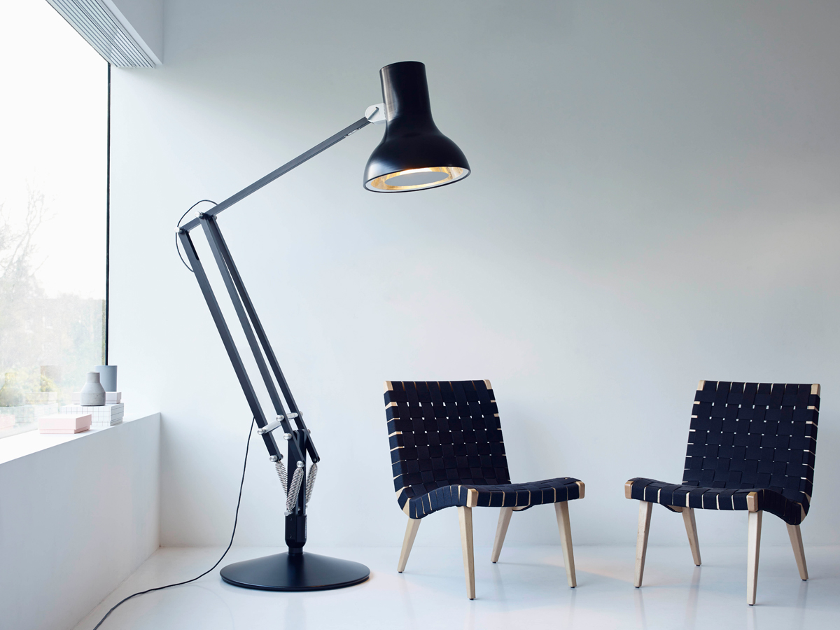buy the anglepoise type 75 giant floor lamp at. Black Bedroom Furniture Sets. Home Design Ideas
