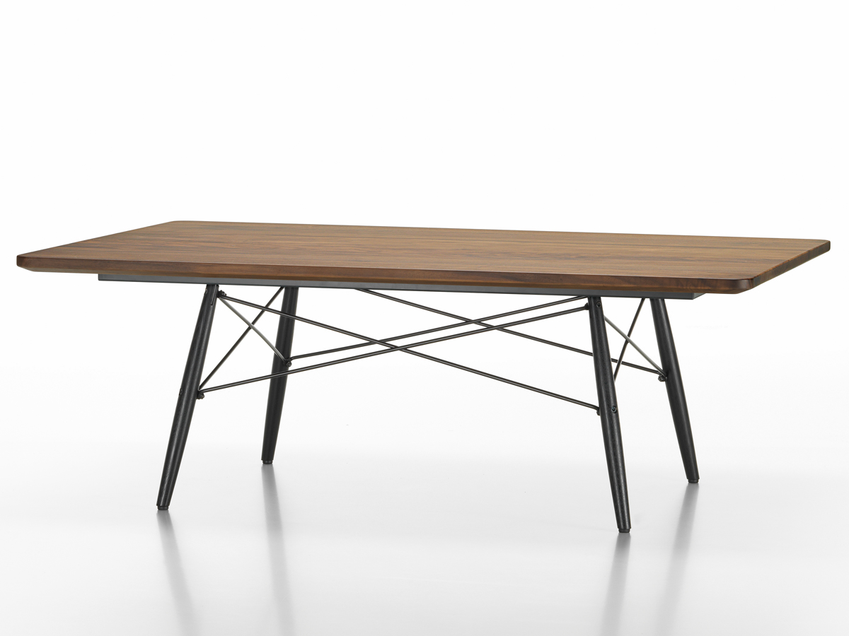 Buy the vitra eames coffee table rectangular at for Eames vitra replica
