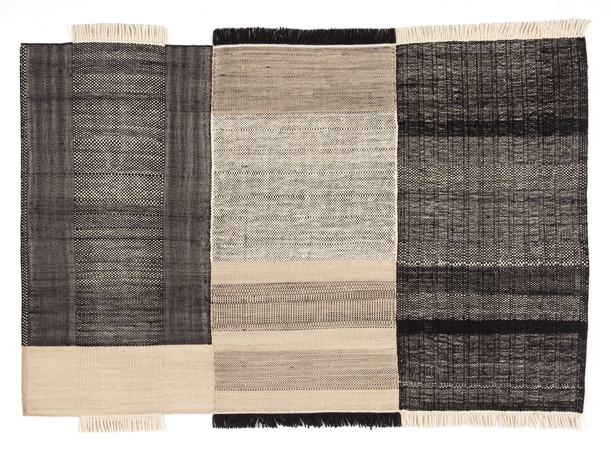 Buy the nanimarquina tres rug black at for Nanimarquina outlet