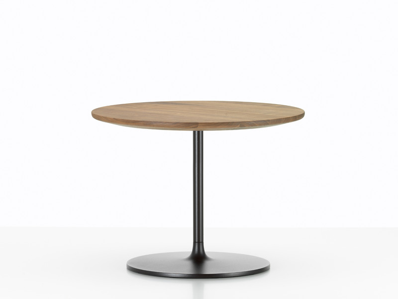 buy the vitra occasional low table american walnut at