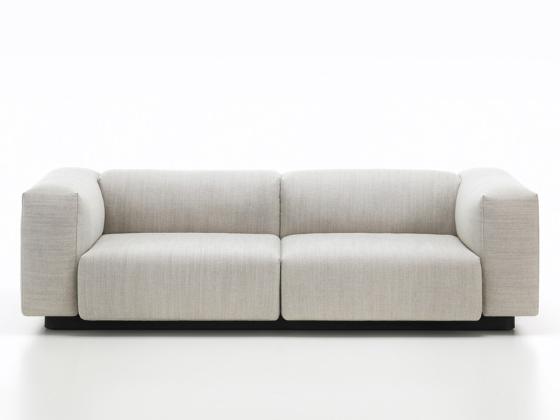 Buy The Vitra Soft Modular Sofa Two Seater At Nest Co Uk