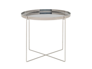 View E15 CM05 Habibi Side Table Stainless Steel