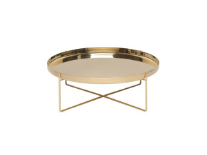 View E15 CM05 Habibi Side Table Brass