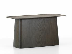 View Vitra Wooden Side Table Dark Oak