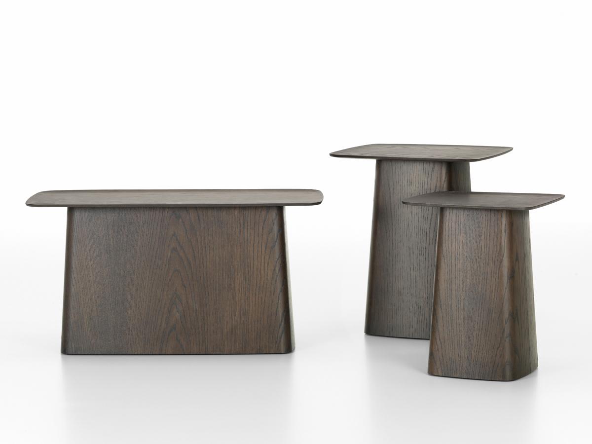 vitra wooden side table dark oak 123456789 - Dark Wooden Side Tables