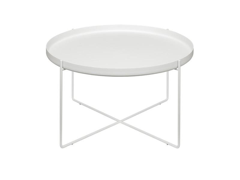 E15 CM05 Habibi Side Table White