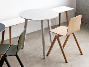Hay Copenhague Deux Table CPH220 with 3 Legs