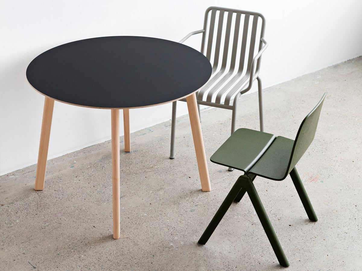Buy the hay copenhague deux table cph220 with 4 legs at - Table copenhague bouroullec ...