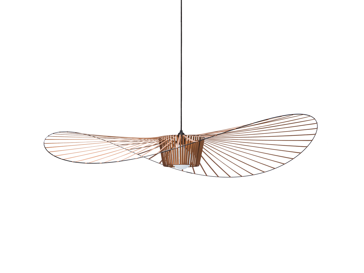 Buy the petite friture vertigo pendant light small at nest for Suspension metal noir