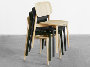 Hay Soft Edge 12 Chair Wood Frame
