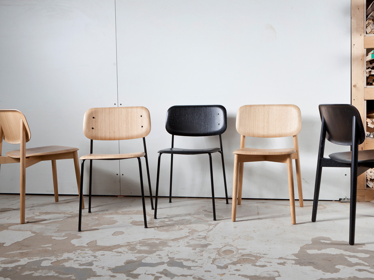 buy the hay soft edge 12 chair wood frame at nestcouk - Wood Frame Chair
