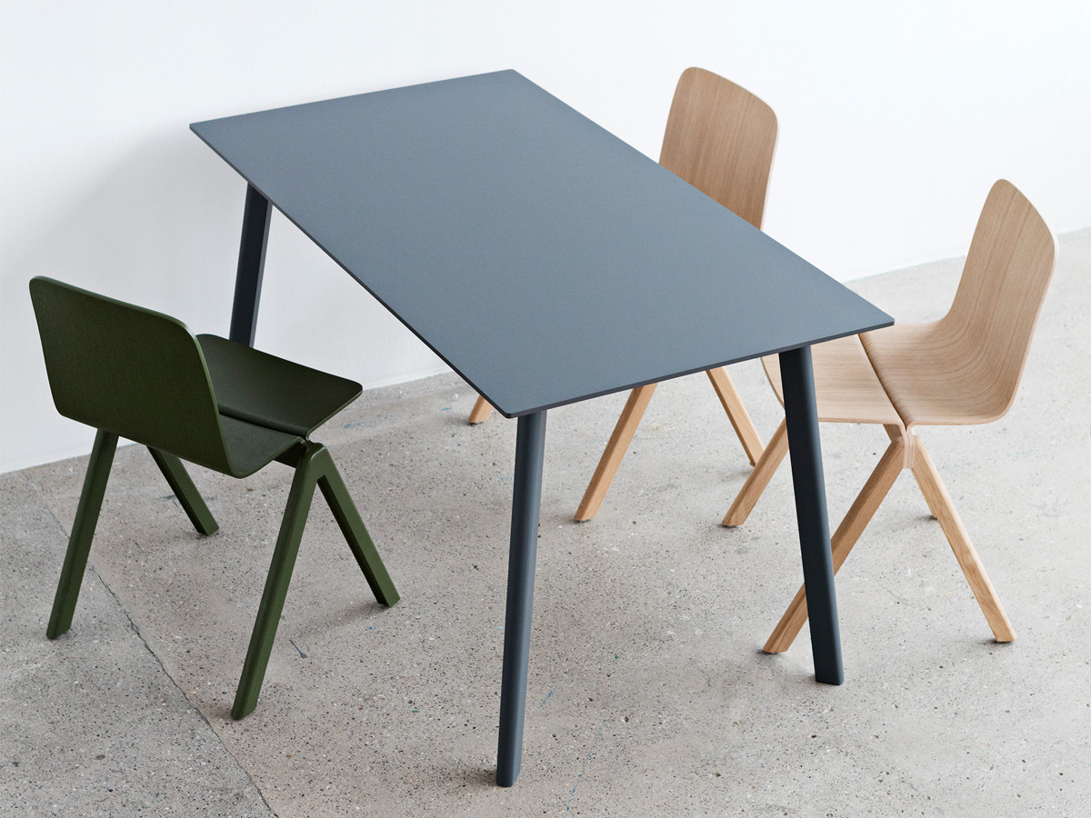 buy the hay copenhague deux dining table cph210 at. Black Bedroom Furniture Sets. Home Design Ideas
