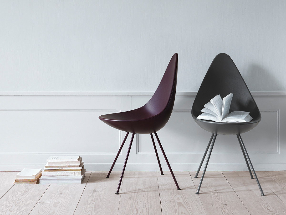... Fritz Hansen Drop Chair Plastic. 1234567891011