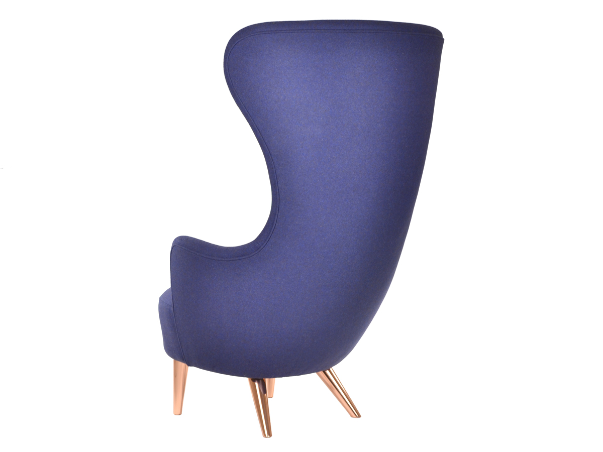 Wingback chair tom dixon -  Tom Dixon Wingback Chair With Copper Legs