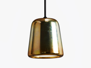 New Works Material Pendant Light - Yellow Steel