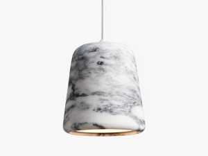 New Works Material Pendant Light - Marble