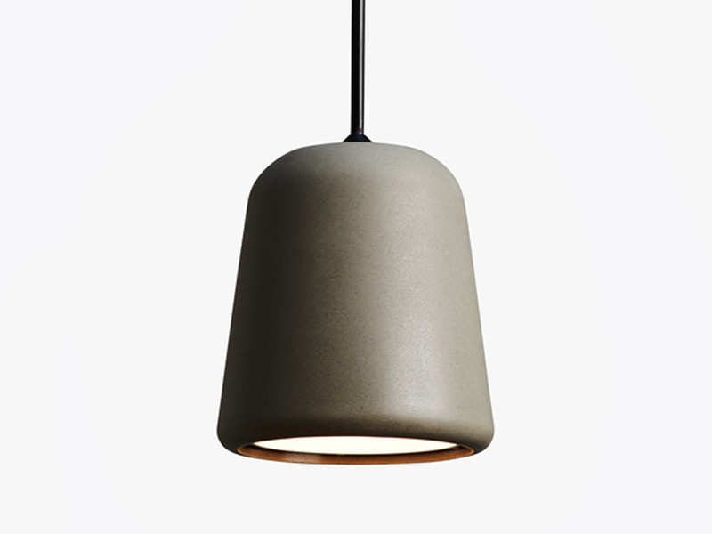 Buy the New Works Material Pendant Light Concrete at Nestcouk