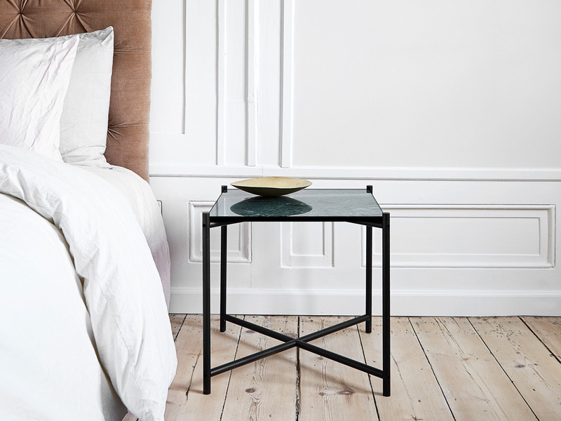 Buy the handvark side table at nest handvark side table greentooth Image collections