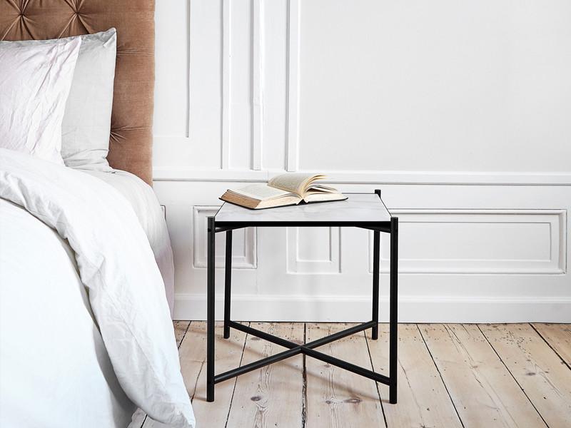 buy the handvark side table at. Black Bedroom Furniture Sets. Home Design Ideas